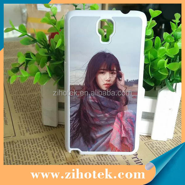 2D blank sublimation mobile phone case for Samsung Note 3 Lite N7505