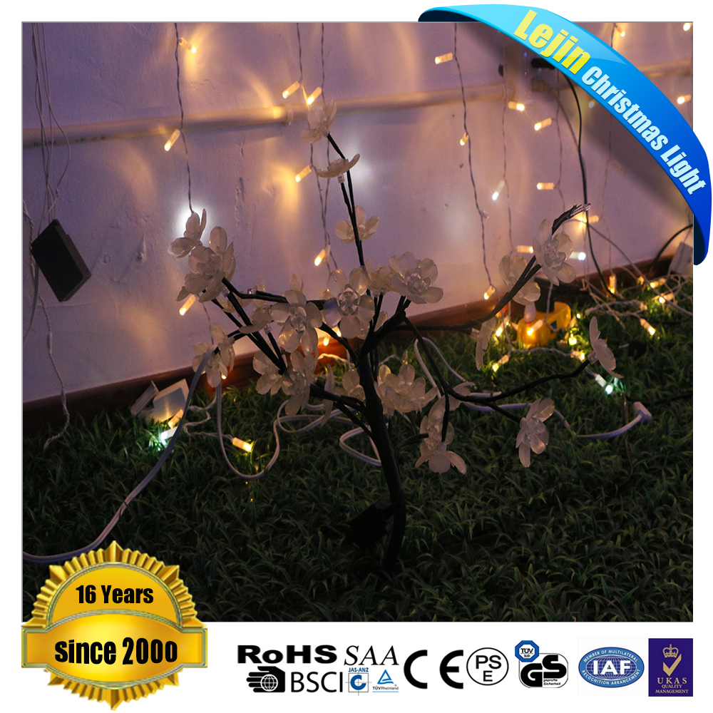 New design white large outdoor christmas tree lights With great price party decoration