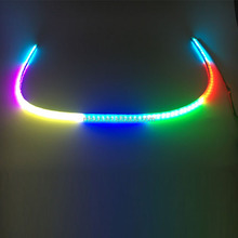 60inch decoration flow rgb colors Led tailgate light for big truck tail lights