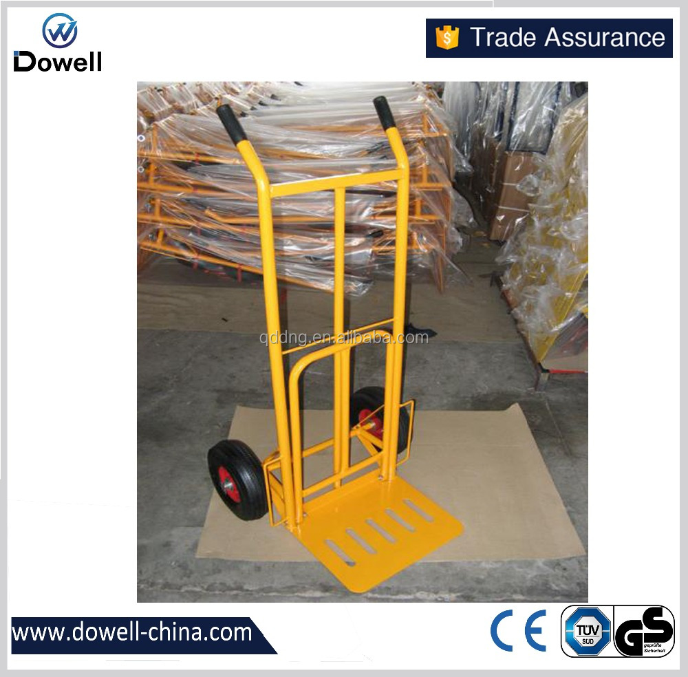 HT1827 high lift hydraulic hand pallet truckGermany convertible hand trolleys high quality hand trolley manufacture