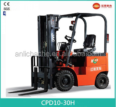 2017 1.0T China Hostory Brand Factory Competitive Price New Electric Forklift