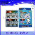 18 color oil pastel office stationery products