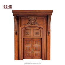 Main Entrance Handmade Carving Wooden Door Designs in Sri Lanka