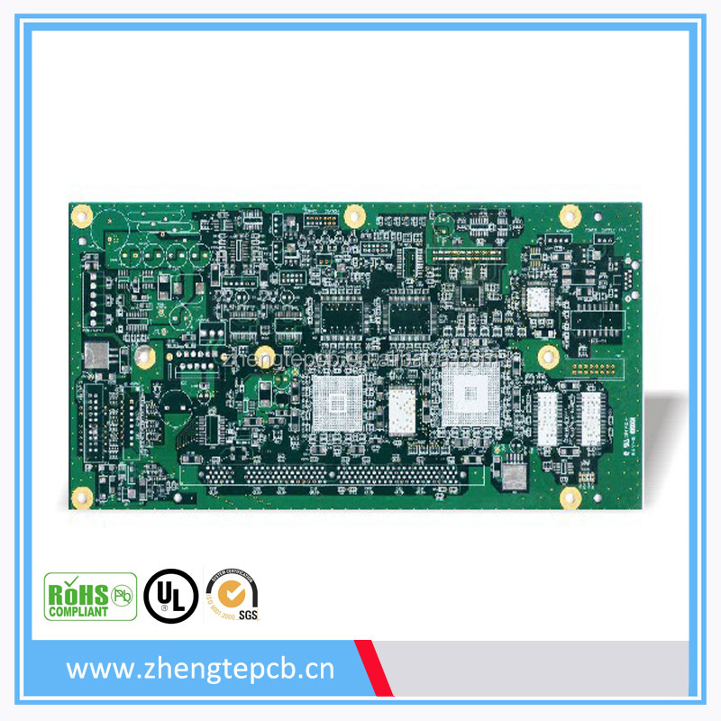High quality multilayer computer keyboards pcb board peelable mask, 6 layer fm transmitter pcb manufacturer