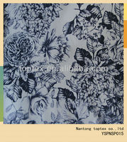 cotton polyester printed spandex fabric
