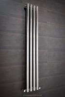 Chrome Round Vertical Column Radiator Oval Double Original - Hopeway premium radiator