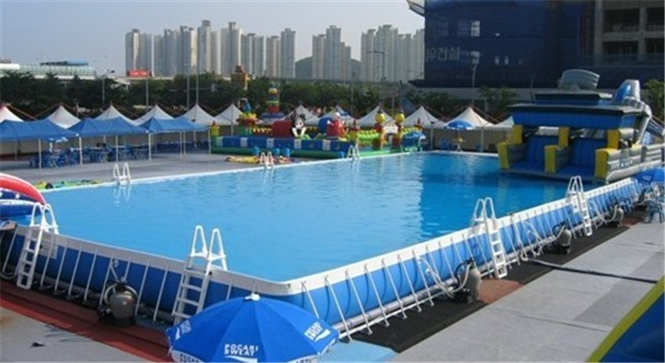 Original Manufacturer Amusement Steel Frame Above Ground Swimming Pool