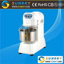 Commercial 12kg 2-movement 2-speed cake beater dough mixer and spiral dough mixer machine with CE