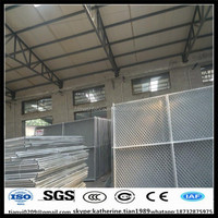 commercial sites hot dipped galvanized metal temporary fence panel