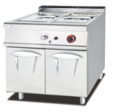 Commercial Stainless Steel Gas Bain Marie With Cabinet
