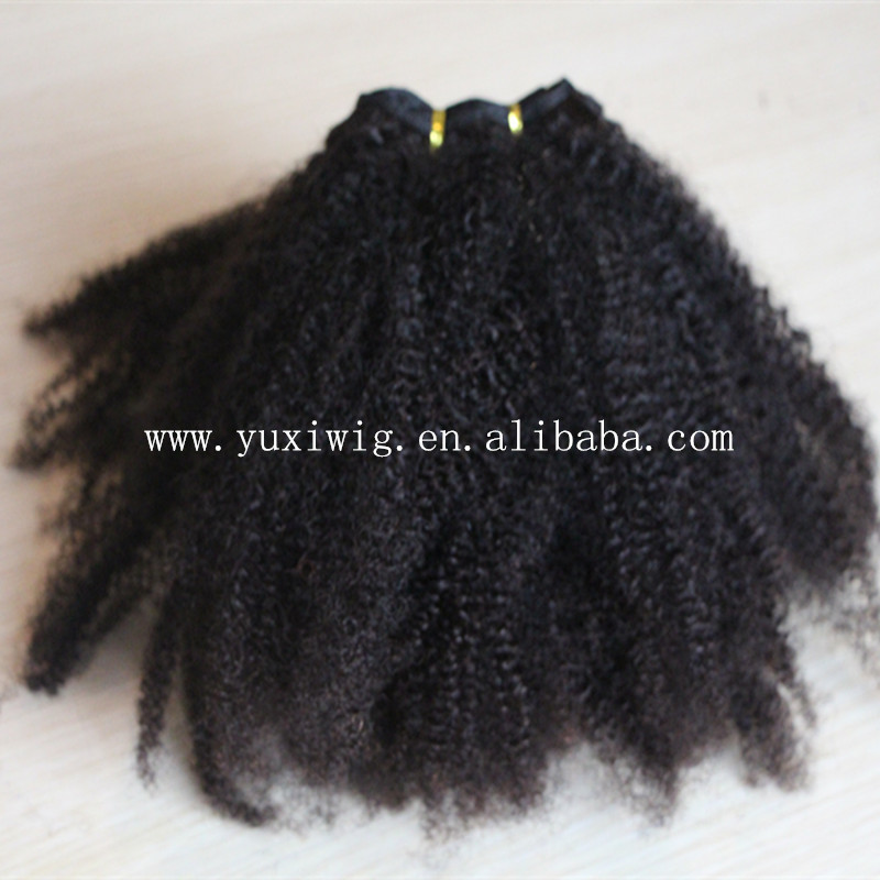 7a grade new products afro kinky human hair
