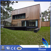 Prefab Light Steel Frame Timber House