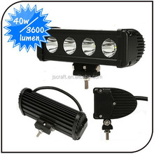 "8"" inch 40W CREE LED Work Light Bar Flood Beam Spot Beam Offroad Truck SUV Boat Lamp"