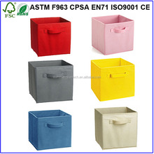 Non-Woven Foldable Cube, Storage box /Good home organizator