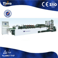 Automatic BOPP,PET,CPP,PE,nylon,aluminum foil and paper Middle Seal Bag Making Machine