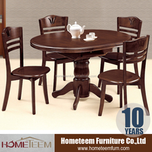 Oval shape the most popular solid wood furniture