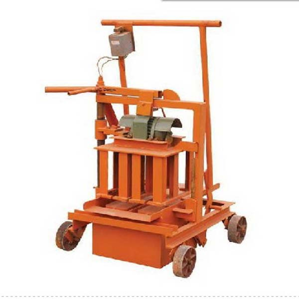 portable mobile QMR2-45 Cheap price egg laying hollow concrete block making machine price in pakistan