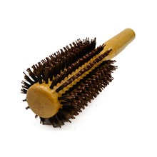 Top Quality Boar Bristle Wood Handle Round Hair Brushes