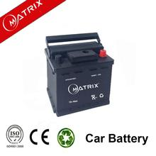 Matrix Auto Battery 12V 40AH MF Car Battery Wholesale