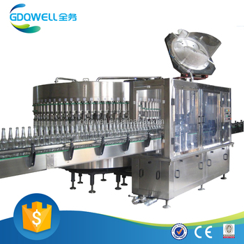 Automatic glass small bottle filling machine