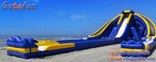 the most exciting new design christmas theme inflatable slide