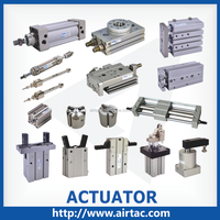 AirTAC double acting clamp aluminum actuators air pneumatic packaging cylinder