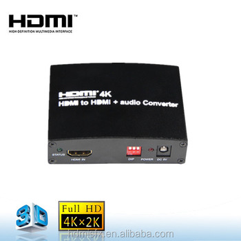 hdmi 2.0 hdcp 2.2 converter 3D Audio hdmi to hdmi converter 4K with EDID managment