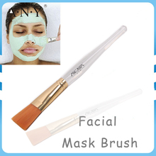 ANGNYA High Quality Hot Sale Transparent Acrylic Handle Facial Mask Brush Makeup