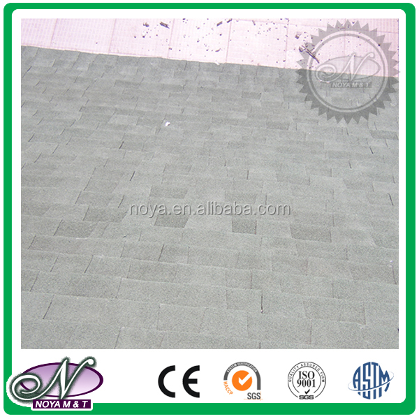 Cheap building materials coloured asphalt shingles for roofing with low price