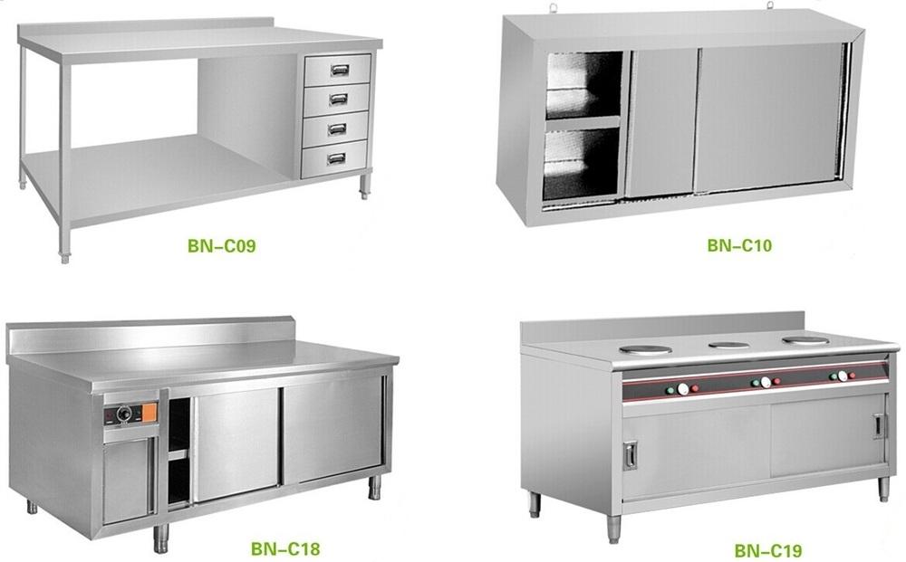 Cabinet Kitchens Restaurant Equipment Stainless Steel