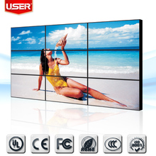 New Products 2014 Video Wall 46 inch Ultra 5.3mm Narrow Bezel LCD Video Wall