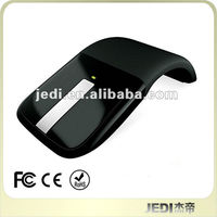 Shenzhen Factory Supply Promotional Folded Mini 2.4G Optical Mouse Computer Mouse Wireless Mouse