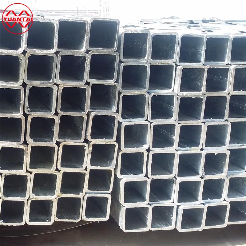 hollow section rectangular welded 1.0308 carbon pipe galvanized steel mesh flooring