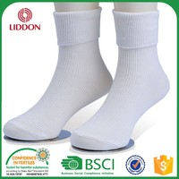 Asian Knitted Young Boy/Girl Tube Sock,School Teen Child White Sock