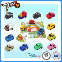 Variety Patterns Little Car Child Wind Up Plastic Toy