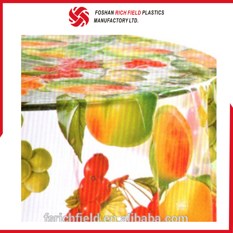 High Quality Non-Woven Transparent Cheap Restaurant Tablecloth