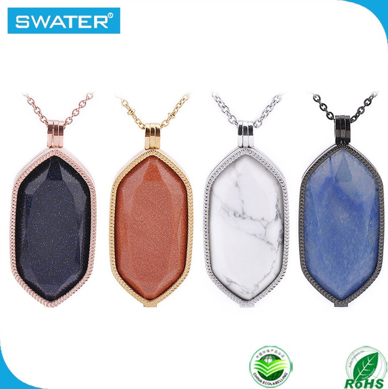 New Fashion Jewelry Wholesale Gemstone Necklace Accessories For Women