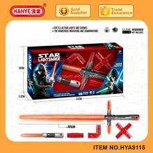 Battery-operated toy star light laser sword toys for kid