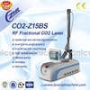 Z15BS top sale rf tube co2 fractional laser for clinic use