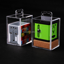 Wholesale acrylic toys display box, transparent organic glass display cases