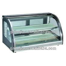Counter-top Thermal Display Cabinet/sushi showcase/bakery display cabinet