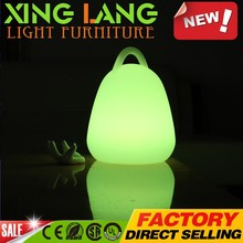 Color changing LED lighted lantern for party stage decoration