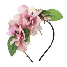Best seller super quality ecofriendly lace flower headband manufacturer sale