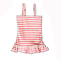 Baby Toddler Girls' Striipe Vest Dress - Many Colour