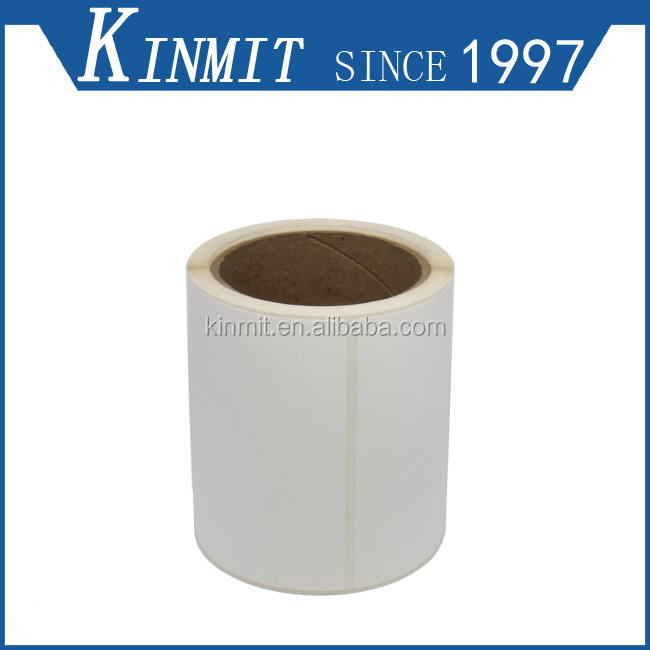 Manufacturer Roll Selling Custom Size Adhesive White Blank Label Stickers
