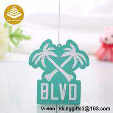 Popular little tree air freshener,hanging car scent air freshener for hotel/custom paper air freshener