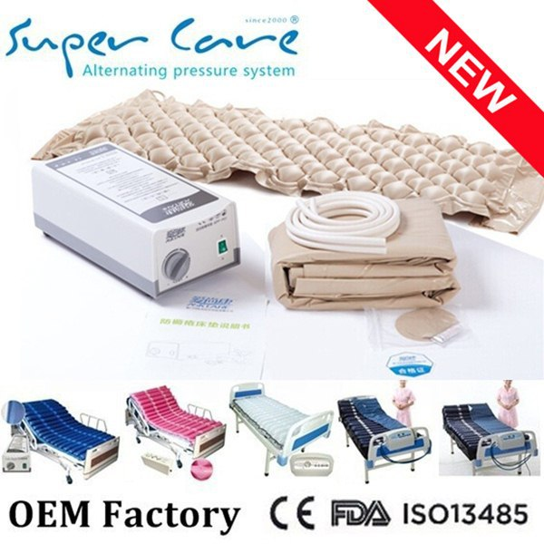 Alternating pressure ripple mattress,ripple mattress medical mattress,medical anti-decubitus mattress