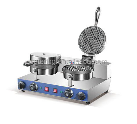 HWB-1 2017 single head stainless steel baker waffle making machine