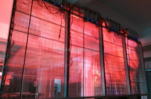 CIRID transparent led video wall price/hot sell CIRID glass led.