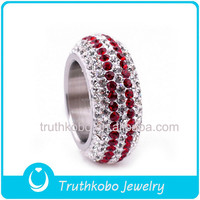 Wholesale High Quality Hot Selling Christmas Gifts Bling Jewelry Luxury Multi Stone Adjustable Shamballa Crystal Evolution Ring